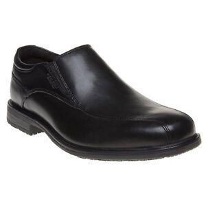 On Ii Flats Leather Bike Slip New Shoes Essential Detail Black Mens Rockport ORnx8wH6