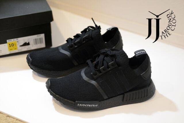 8a0859b1e1ffb New Adidas NMD R1 PK Japan Triple Black Nomad Primeknit BZ0220 SIZE 10.5  LIMITED