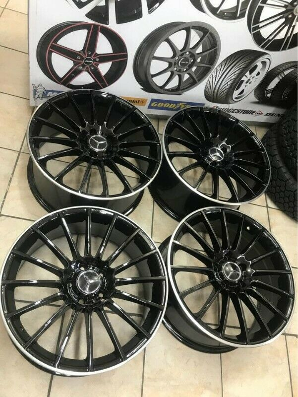 AMG BENZE 19 inches mags 5/112 8.5 j and 9.5 j for sale