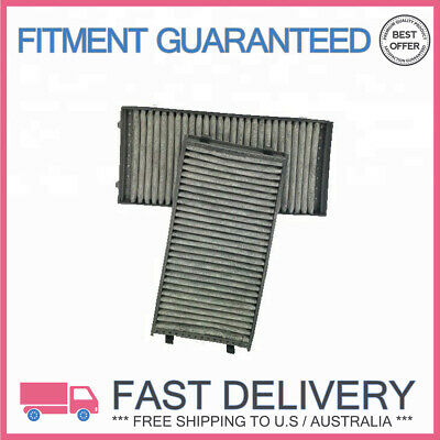 2Pcs Car Cabin Air Filter Activated Carbon For BMW E70 X5 E71 X6 64316945586