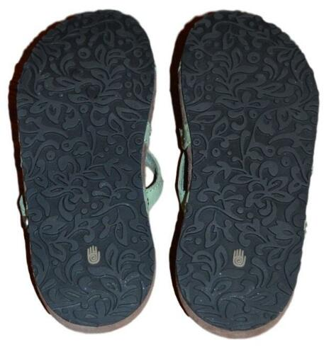 eec9d0d43b63 11 of 12 Nwob Teva Ladies Downtown Ola Mosstone Green Waterproof Leather  Thong Sandals 7