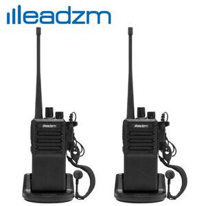 LEADZM C2 UHF 400-470MHz Walkie Talkie Two Way Radio