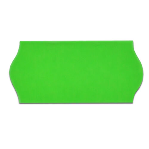 GREEN 26 x 12mm Wavy Edge CT4 Price Gun Labels 10 Rolls
