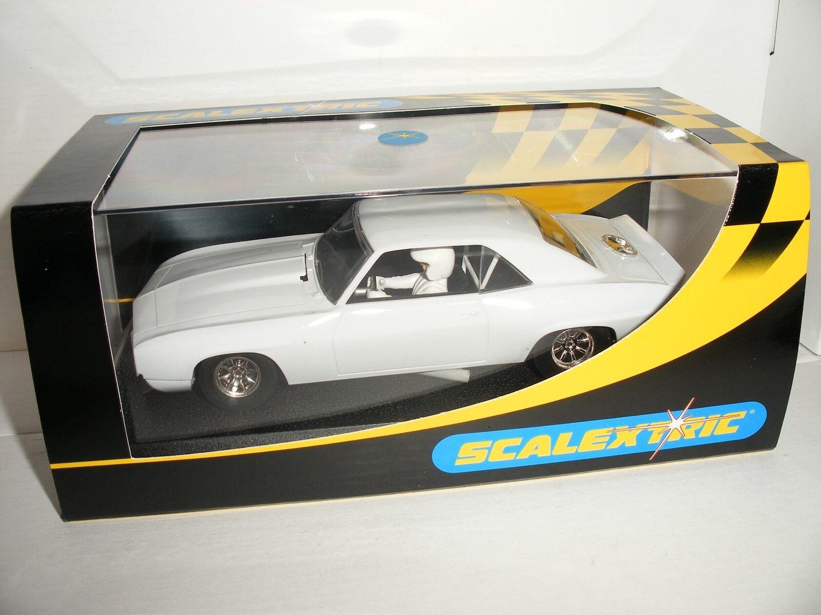 Scalextric - C2451 Chevrolet Camaro '69 Plain White - NEW