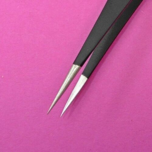 Precise Tweezers ESD-12B Anti-Static ONLYOU Maintenance Tools Stainless Steel