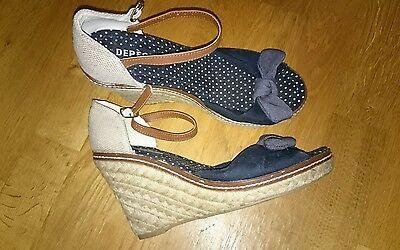 Depeche Schuhe Sandalette Gr.39
