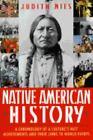 Native American History by Judith Nies (1996, Paperback)
