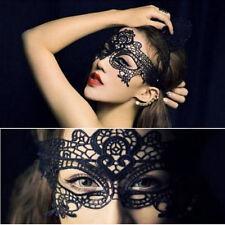 Women Hot Sexy Lace Hollow Eye Face Mask Masquerade Ball Fancy Costume Dress