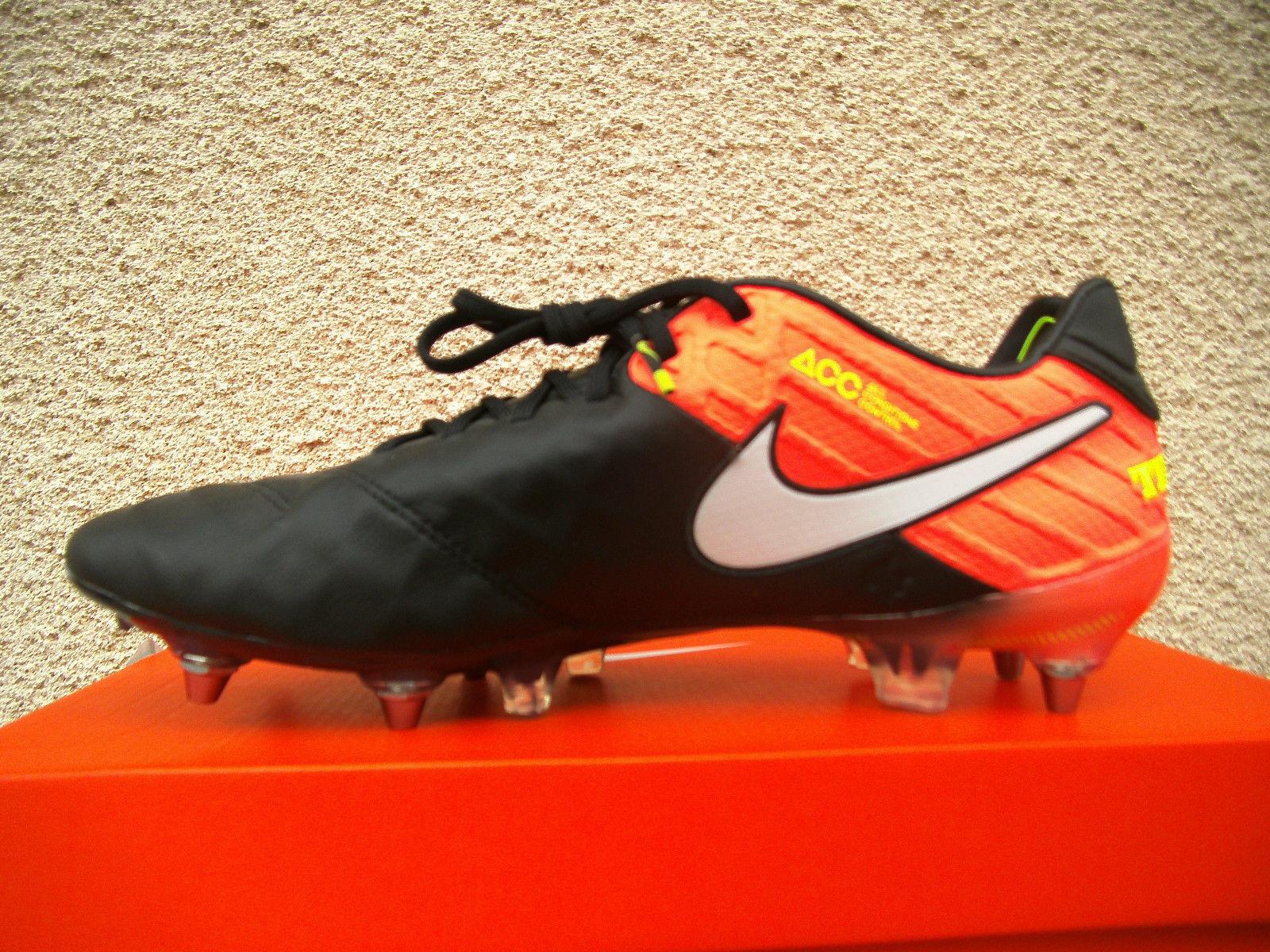 Nike Tiempo Legend VI SG Pro Schwarz-Rosa (819680 018) Gr. 40 - 44