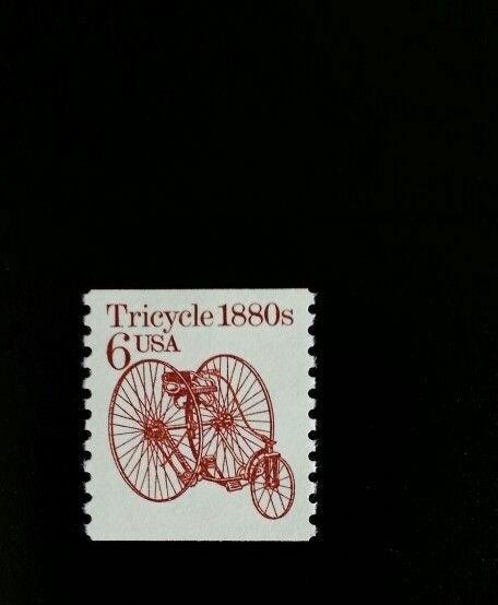 1985 6c Tricycle, Coil Scott 2126 Mint F/VF NH