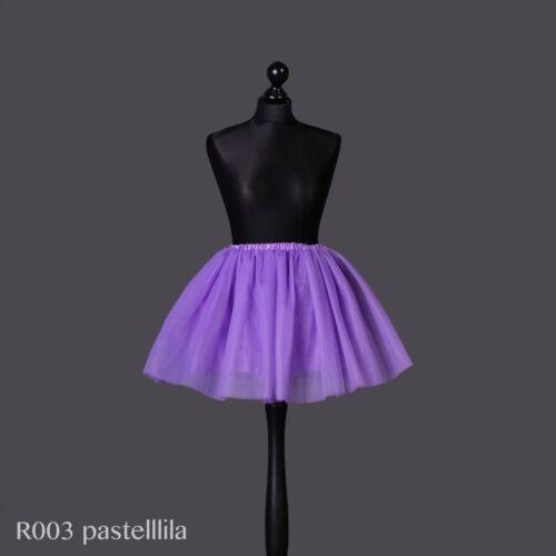 Angebote 5 Lagen Tütü Ballettrock Tüllrock Petticoat Tanzrock kurz Lafairy
