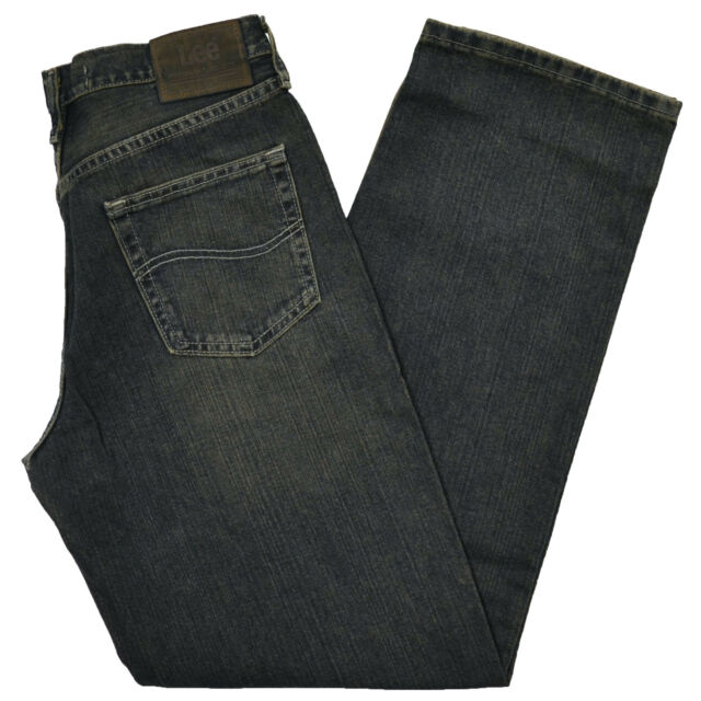 Lee Jeans Mens Premium Select Relaxed Straight Fit 29 30 32 33 34 36 38 40 New