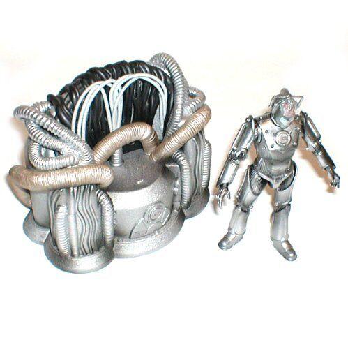 Doctor who cyberman leader thron 6  alien - bösewicht spielzeug - figur, nicht boxen