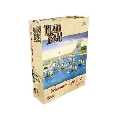 Schooners Squadron Warlord Games, Black Powder Black Seas