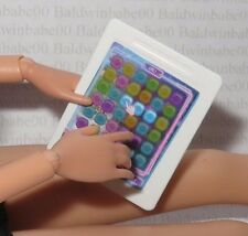 ACCESSORY ~ BARBIE DOLL FAUX GAMER TABLET GAME DEVELOPER MINIATURE FOR DIORAMA
