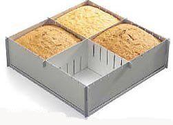 "Alan Silverwood 12"" X 4"" Deep Multisize A Scomparsa Cake Pan- Prezzo Ragionevole"