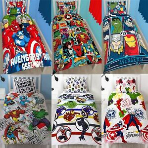 Official-Marvel-Comics-Avengers-Licensed-Duvet-Covers-Single-Double