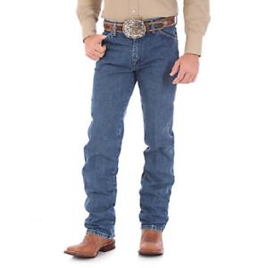 WRANGLER-Men-039-s-Cowboy-Cut-Original-Fit-Stonewashed-Denim-Blue-Jeans-13MWZGK-NWT