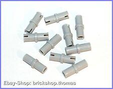 Lego Technic 10 x Verbinder grau - 3673 - Connector Light Bluish Gray - NEU/NEW