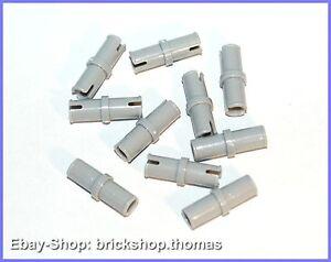 LEGO 20 x Technic Pin Verbinder 3673 alt hellgrau