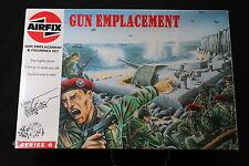 XL055 AIRFIX 1/76 maquette figurine 06704 Gun Emplacement Figurine Serie 6 1994