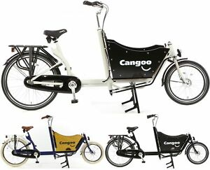 24 zoll lastenrad 7 gang cangoo downtown 240n7 bakfiets. Black Bedroom Furniture Sets. Home Design Ideas