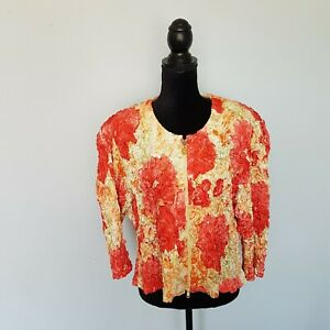 huge discount 015a1 06be8 Details about JOSEPH RIBKOFF Yellow / Orange Bluse /Shirt /Jacket Size 46