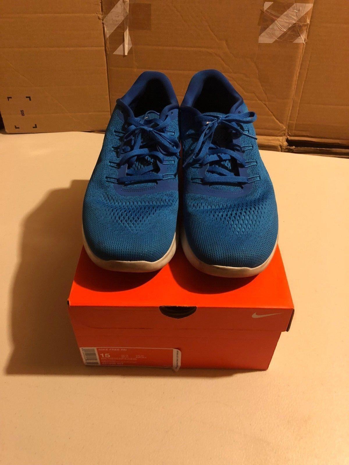 Nike Free Run RN Running bluee Sz 15 VNDS Training NikeLab