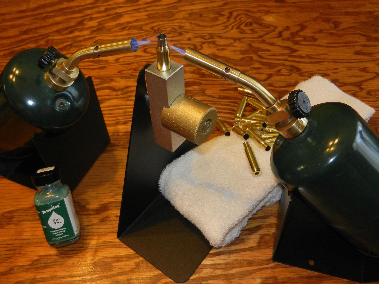 Anneal Cartridge Brass, Anneal-Rite w Holder, .41 Swiss & 1 - 750 Tempilaq