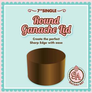 7inch Single Round Ganache Lid Sharp Edge