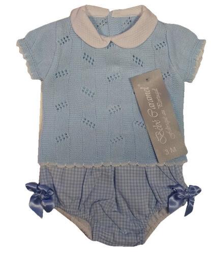 BEBE CARAMEL PORTUGAL BABY GIRLS BOYS SPANISH DESIGNER PINK BLUE GREY OUTFIT