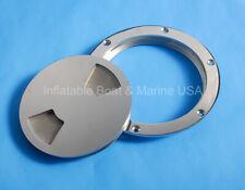 "Boat Marine 6/"" 316 Stainless Steel Deck Plate SSDP110344"