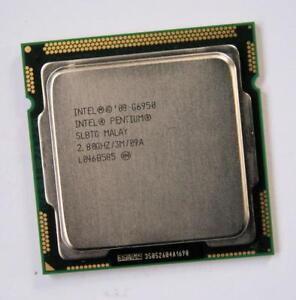 Intel Pentium Dual-Core G6950 SLBMS SLBTG 2.8 GHz LGA 1156 533 MHz CPU processor