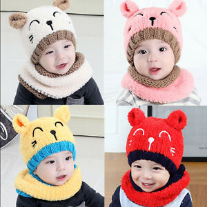 Winter-Baby-Toddler-Girl-Boy-Warm-Cute-Beanie-Beanie-Hat-Cap