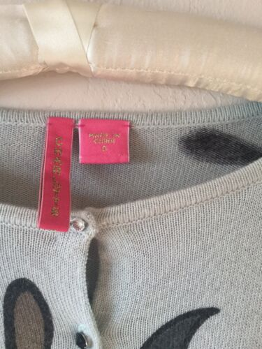Angora Charlotte Blød Small Blomstret Sweater Tarantola Cardigan 7AqzOBA