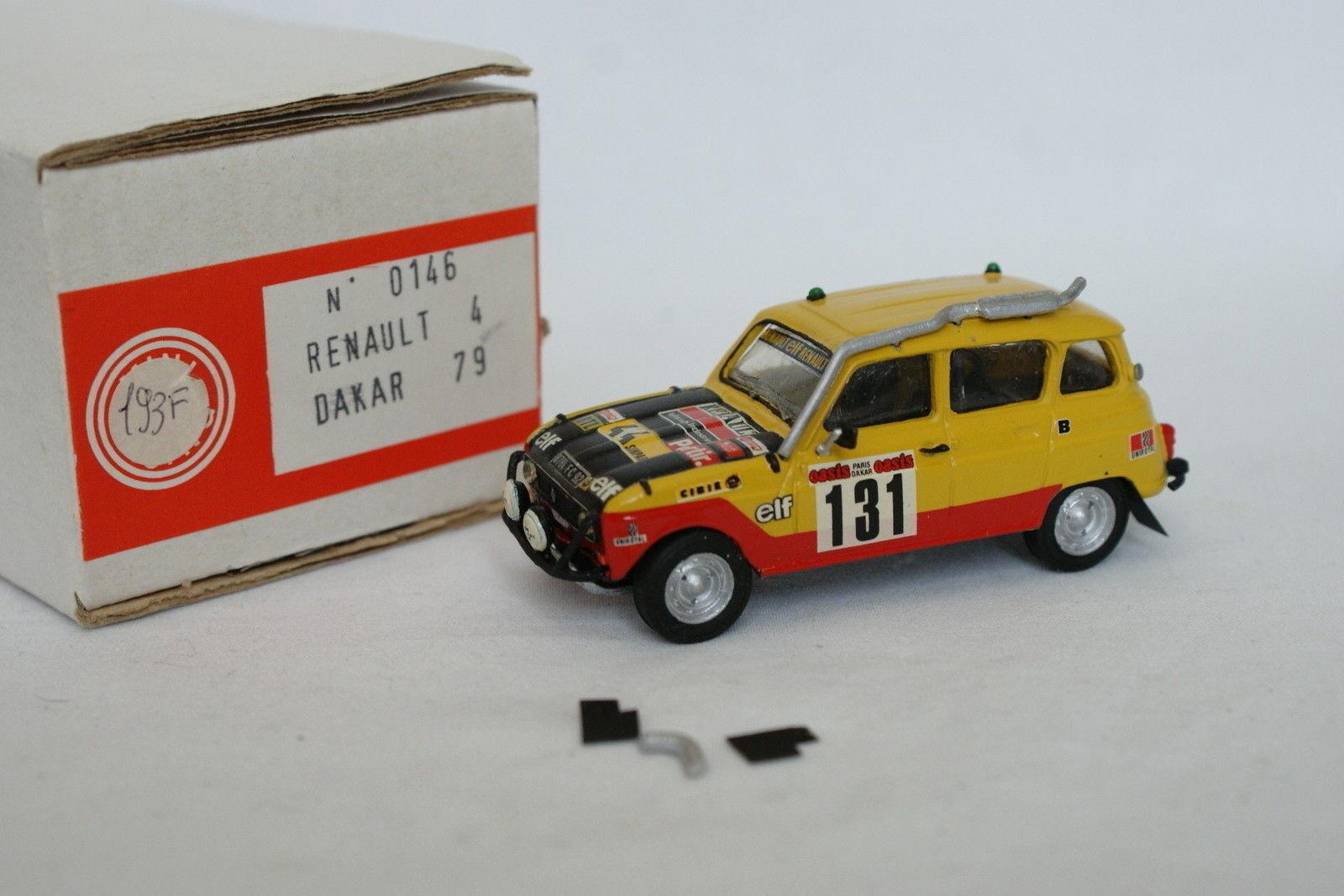 Mini - 1   43 - Renault 4 - 4 - París Dakar 1979
