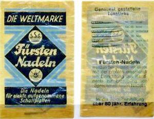 Mustertuetchen-Fuersten-Nadeln-Grammophonnadeln