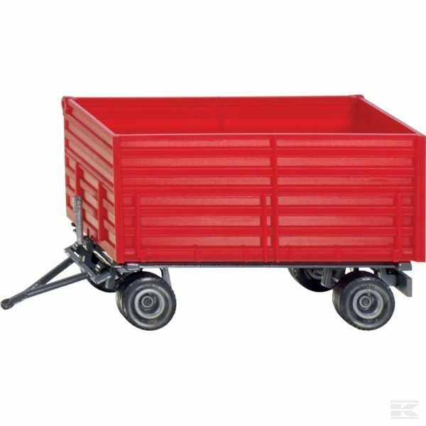 Siku Red Trailer 1 32 Scale Scale Scale Model Toy Gift Christmas deeac3