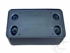 1994-1995-Lincoln-Mark-VIII-Front-License-Plate-Bracket-Blue-F4LY17A385G-NOS