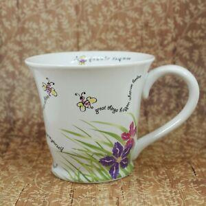 Mary-Kay-Bee-Coffee-Mug-Cup-Encouragement-Succeed-Achieve-Beelieve