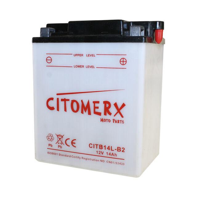 Batería, batería de motocicleta fb14l-b2 12v 14ah para Honda CBR 1000 f sc21 año 87-88