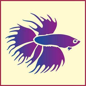 BETTA-FISH-STENCIL-TROPICAL-FISH-STENCIL-ANIMAL-STENCILS-The-Artful-Stencil