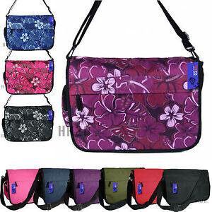 Details about Messenger Courier Dispatch Bag School Plain Work Mens Ladies  Girls Boys A4