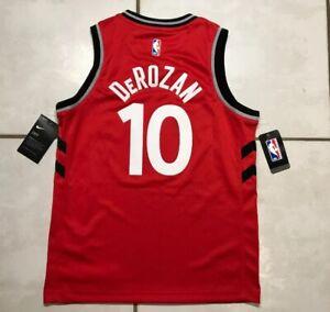 wholesale dealer 1e1bc d75eb Details about NWT NIKE Toronto Raptors DeMar DeRozan NBA Jersey Youth Medium