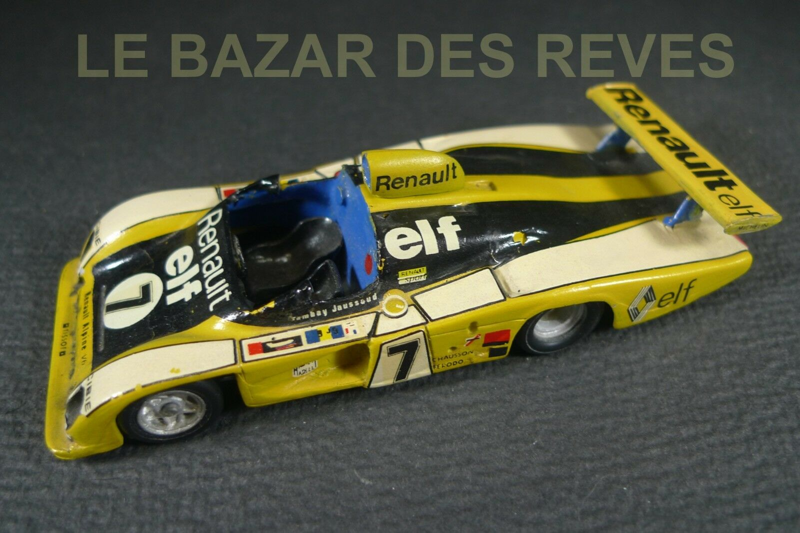 MINI RACING. Kit métal RENAULT ALPINE A442 Tambay Jaussaud . échelle 1 43