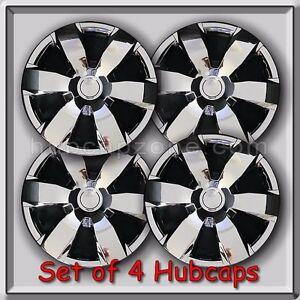set of 4 16 chrome toyota camry hubcaps 2006 2010 replica camry wheel c. Black Bedroom Furniture Sets. Home Design Ideas