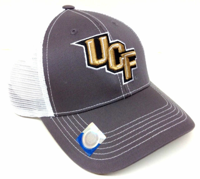 621e2450c Grey Ghost UCF University Central Florida Knights Mesh Trucker Snapback Hat  Cap