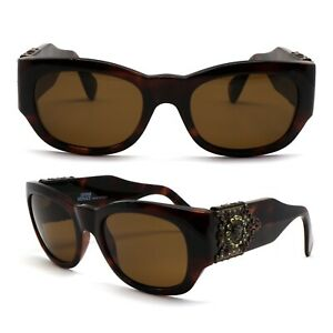7128481690 GLASSES GIANNI VERSACE 413 H 90A VINTAGE SUNGLASSES NEW OLD STOCK ...