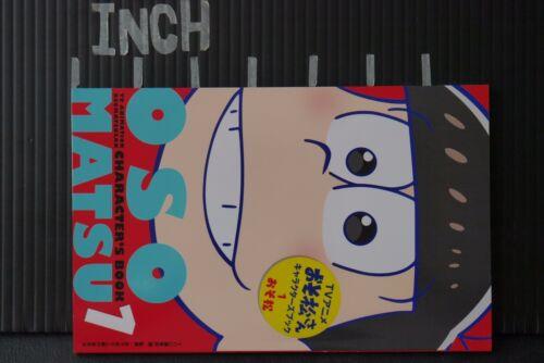 "JAPAN TV Anime Mr Osomatsu Osomatsu-san Characters Book 1 /""Osomatsu/"""