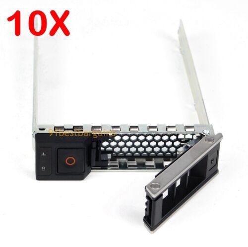 LOT OF 10 3.5Inch SAS Hard Drive Caddy 0X7K8W Dell 13Gen R540 R640 R740xd C6420